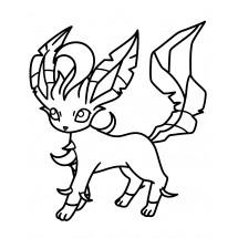 Coloriage Pokémon Phyllali