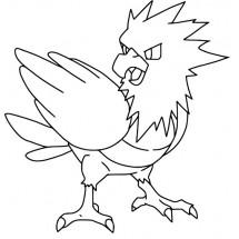 Coloriage Pokémon Piafabec