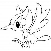 Coloriage Pokémon Picassaut