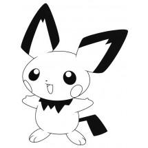 Coloriage Pokémon Pichu