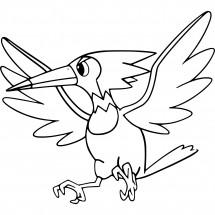 Coloriage Pokémon Piclairon