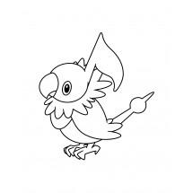 Coloriage Pokémon Pijako