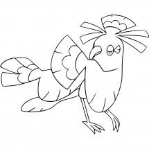 Coloriage Pokémon Plumeline style Buyo