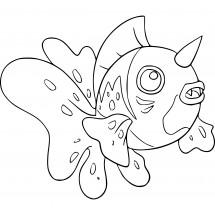 Coloriage Pokémon Poissoroy