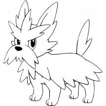 Coloriage Pokémon Ponchien