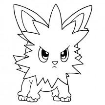Coloriage Pokémon Ponchiot