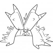 Coloriage Pokémon Prédastérie