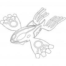 Coloriage Pokémon Primo-Kyogre