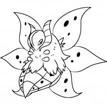 Coloriage Pokémon Pyrax