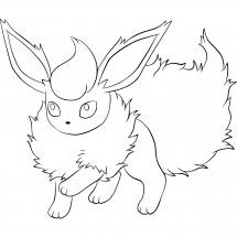 Coloriage Pokémon Pyroli