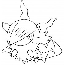 Coloriage Pokémon Pyronille