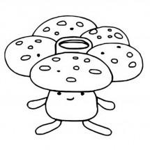 Coloriage Pokémon Rafflesia
