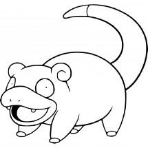 Coloriage Pokémon Ramoloss