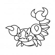 Coloriage Pokémon Rapion