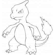 Coloriage Pokémon Reptincel
