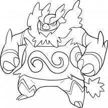 Coloriage Pokémon Roitiflam