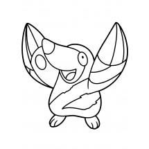 Coloriage Pokémon Rototaupe