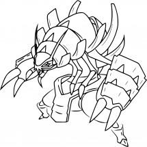 Coloriage Pokémon Sarmuraï