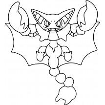 Coloriage Pokémon Scorvol