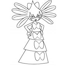 Coloriage Pokémon Sidérella
