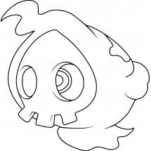 Coloriage Pokémon Skelénox