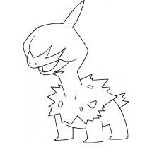 Coloriage Pokémon Solochi