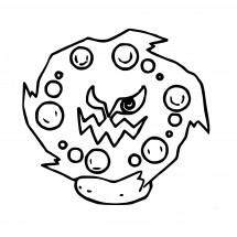 Coloriage Pokémon Spiritbomb