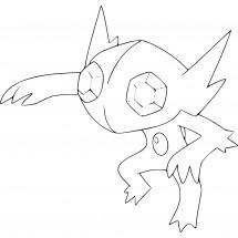 Coloriage Pokémon Ténéfix