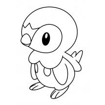 Coloriage Pokémon Tiplouf