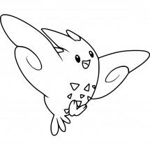 Coloriage Pokémon Togekiss
