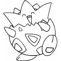Coloriage Pokémon Togepi