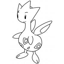 Coloriage Pokémon Togetic