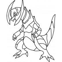 Coloriage Pokémon Tranchondon