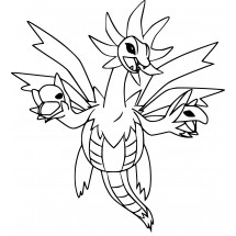 Coloriage Pokémon Trioxhydre