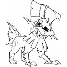 Coloriage Pokémon Type:0
