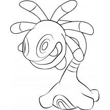 Coloriage Pokémon Vacilys