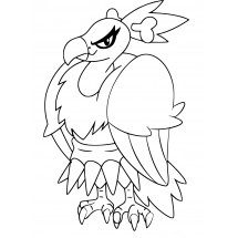 Coloriage Pokémon Vaututrice