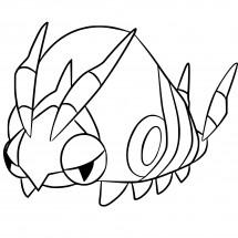 Coloriage Pokémon Venipatte