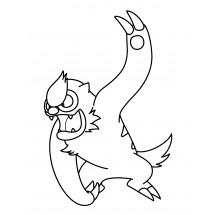 Coloriage Pokémon Vigoroth