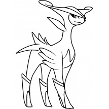 Coloriage Pokémon Viridium