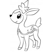 Coloriage Pokémon Vivaldaim