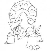 Coloriage Pokémon Volcanion