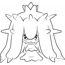 Coloriage Pokémon Vorastérie