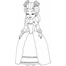 Coloriage Reine Miranda
