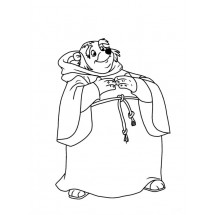 Coloriage Frère Tuck