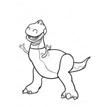 Coloriage Rex