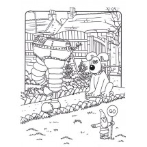 Coloriage Gromit